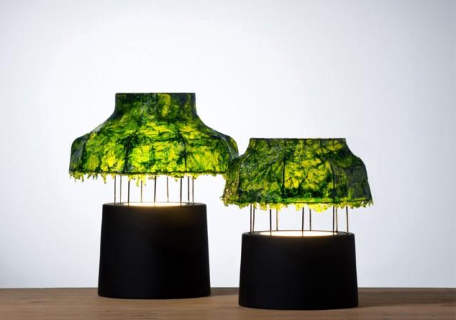 seaweed lamp shade